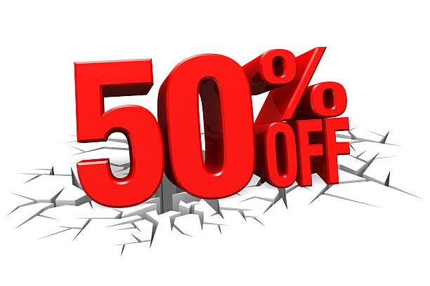 50% off Customer Appreciation Sale               ALL OF APRIL