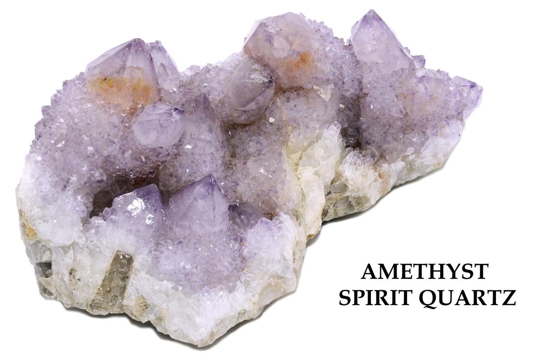 Amethyst Spirit Quartz