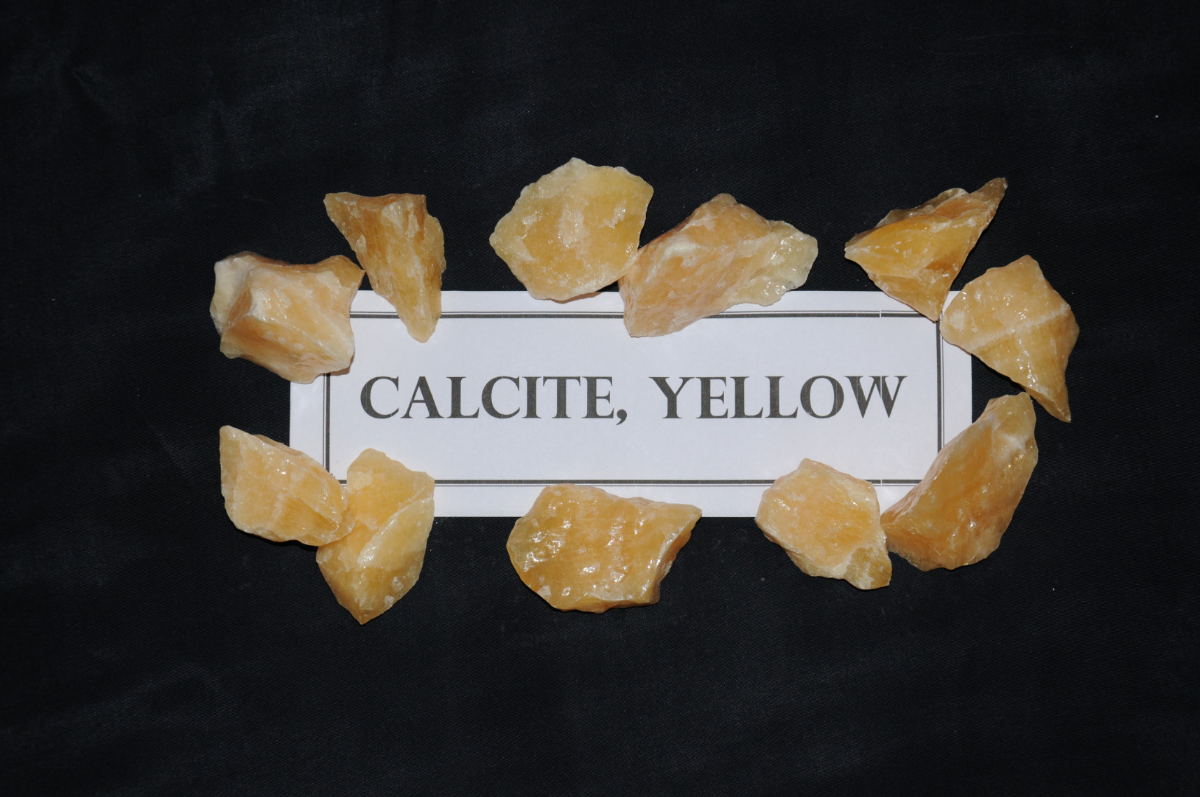 Calcite, Yellow