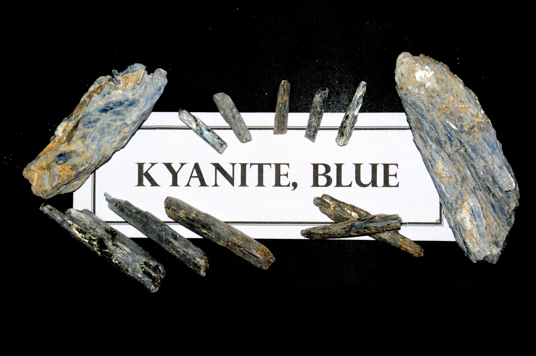 Kyanite, Blue