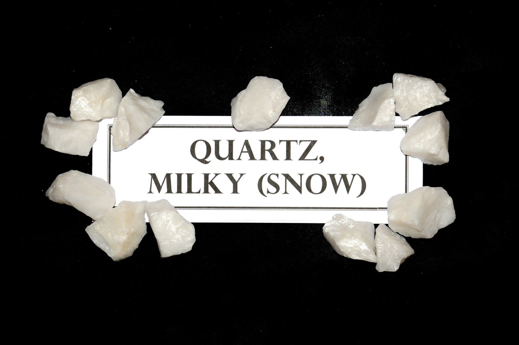 Quartz, Milky (Snow)
